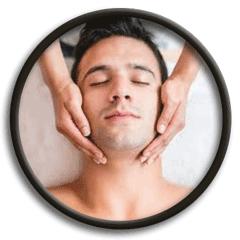 treatment icon face massage
